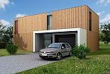 Projekt rodinného domu Pure obr.528