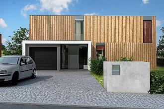 Projekt rodinného domu - Pure
