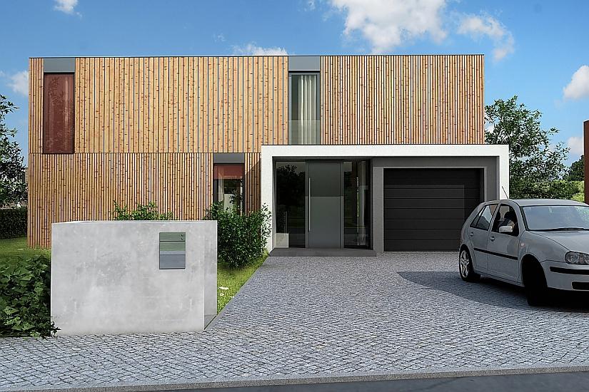 Projekt rodinného domu Pure obr.529