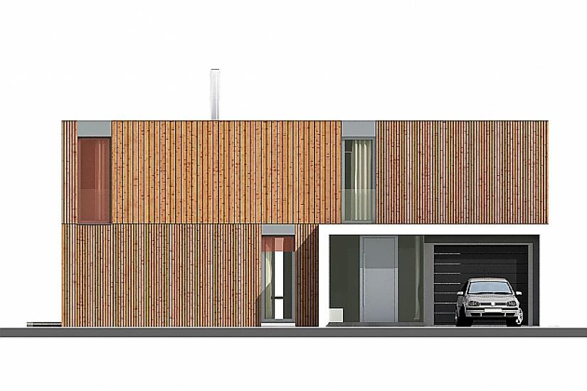 Projekt rodinného domu Pure obr.810