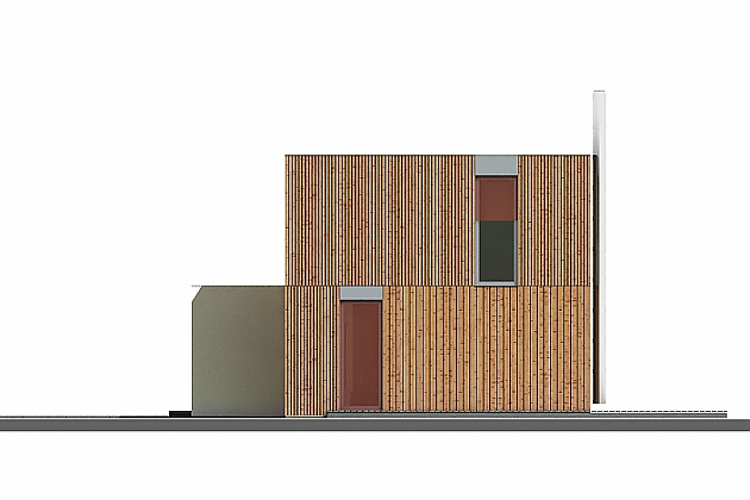 Projekt rodinného domu Pure obr.813