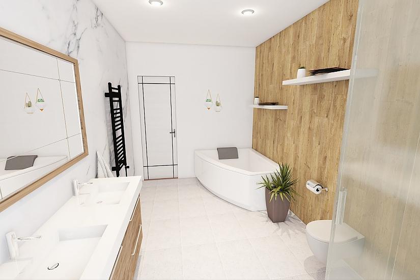 Projekt bungalovu Comfort obr.1086