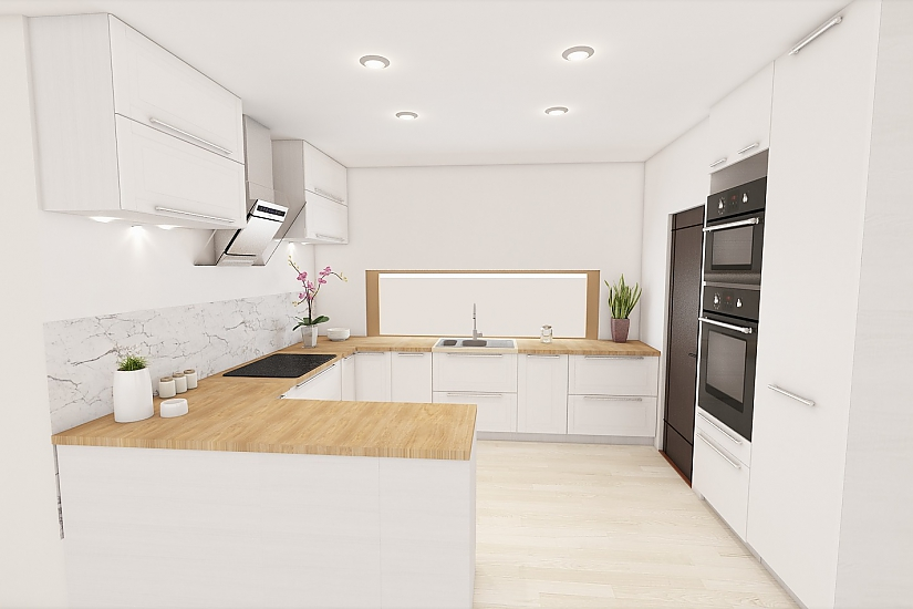Projekt bungalovu Comfort obr.1087