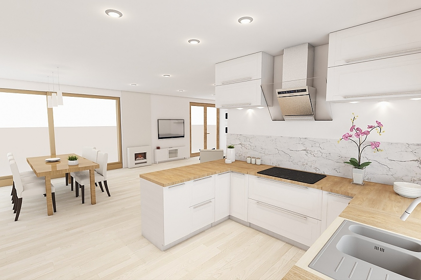 Projekt bungalovu Comfort obr.1088