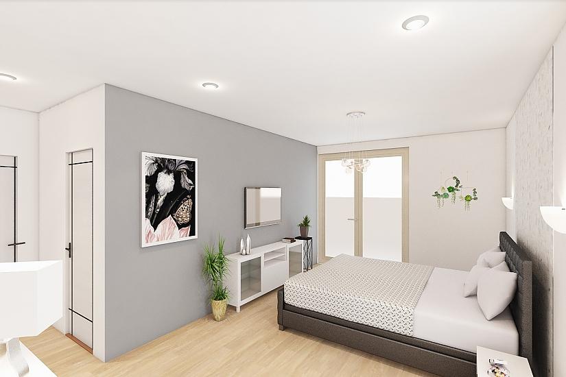 Projekt bungalovu Comfort obr.1089