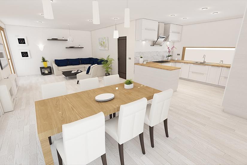 Projekt bungalovu Comfort obr.1091