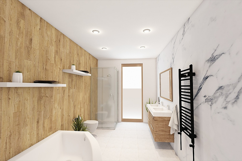 Projekt bungalovu Comfort obr.1093