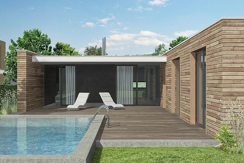Projekt bungalovu Comfort obr.530