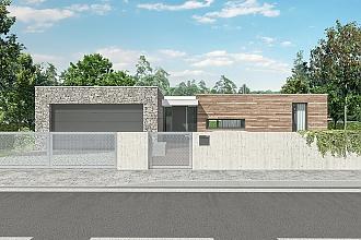 Projekt bungalovu - Comfort