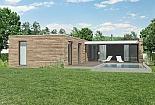 Projekt bungalovu Comfort obr.532