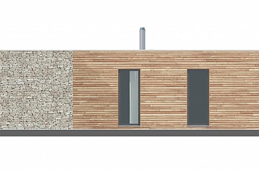 Projekt bungalovu Comfort obr.763