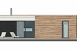 Projekt bungalovu Comfort obr.764