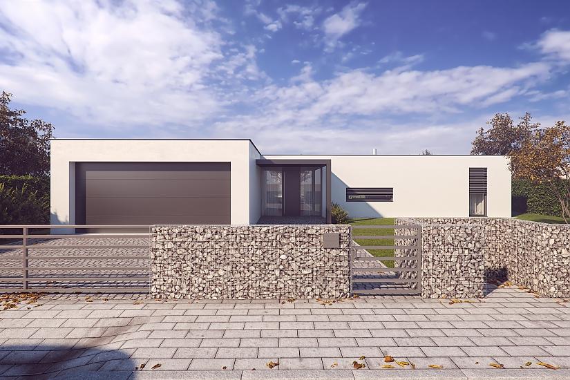 Projekt bungalovu Comfort obr.966