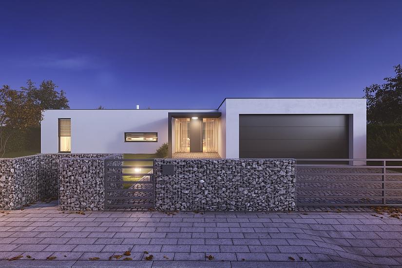 Projekt bungalovu Comfort obr.972