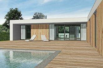 Projekt bungalovu - Relax