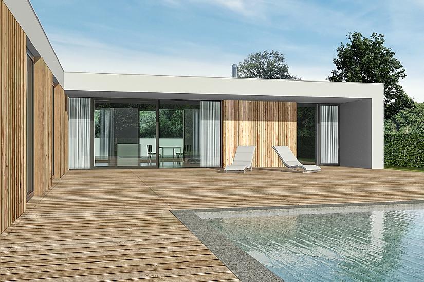 Projekt bungalovu Relax obr.533