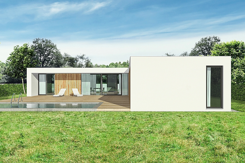 Projekt bungalovu Relax obr.534