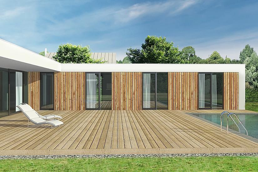 Projekt bungalovu Relax obr.535