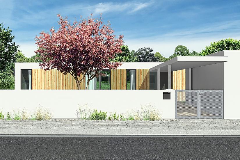 Projekt bungalovu Relax obr.536