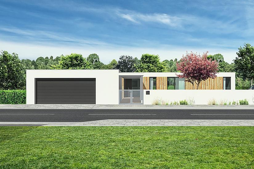Projekt bungalovu Relax obr.539