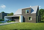 Projekt rodinného domu Popular obr.541