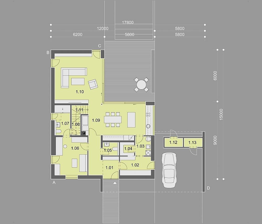 Projekt Rodinného Domu Popular Energy Domy