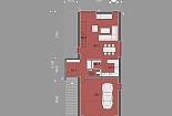Projekt rodinného domu Logic obr.859