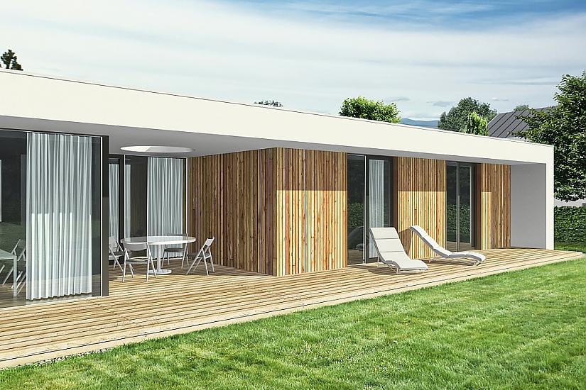 Projekt bungalovu Nova obr.549