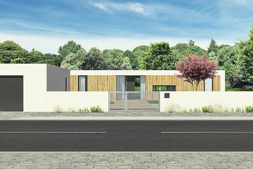 Projekt bungalovu Nova obr.552