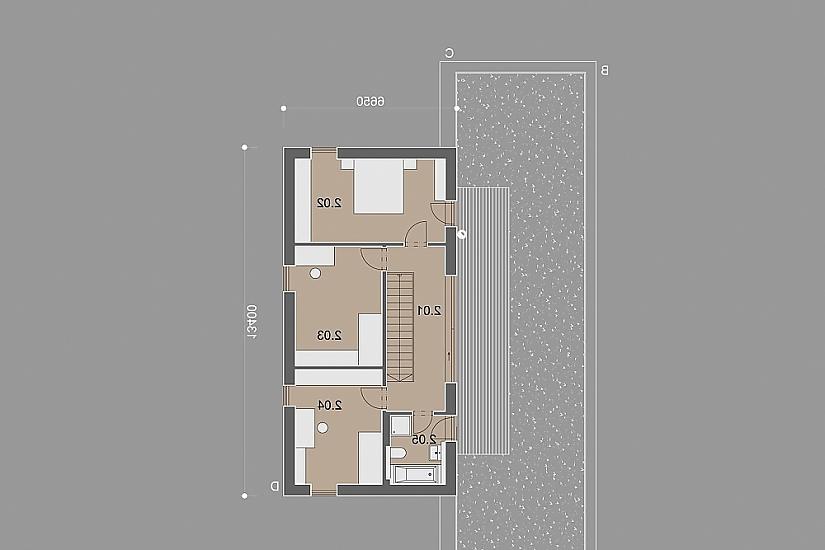 Projekt rodinného domu Heaven obr.856