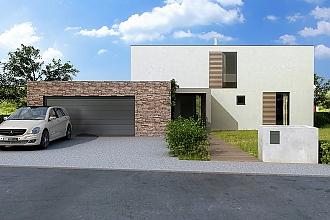 Projekt rodinného domu - Glossy