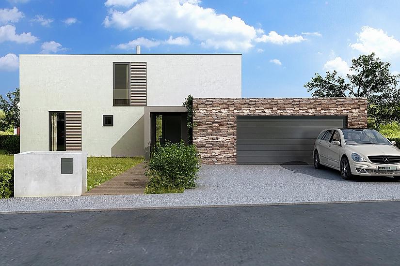 Projekt rodinného domu Glossy obr.569