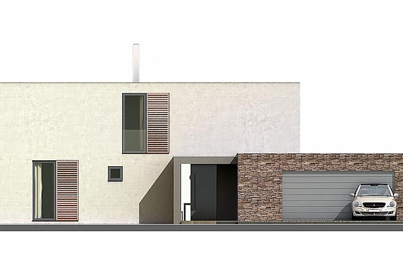 Projekt rodinného domu Glossy obr.719