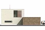 Projekt rodinného domu Glossy obr.720