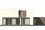 Projekt rodinného domu Glossy obr.721