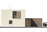 Projekt rodinného domu Glossy obr.722