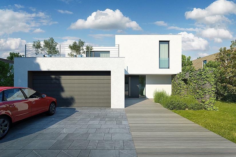 Projekt rodinného domu Zigzag obr.573