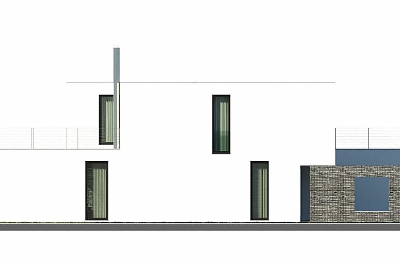Projekt rodinného domu Zigzag obr.833