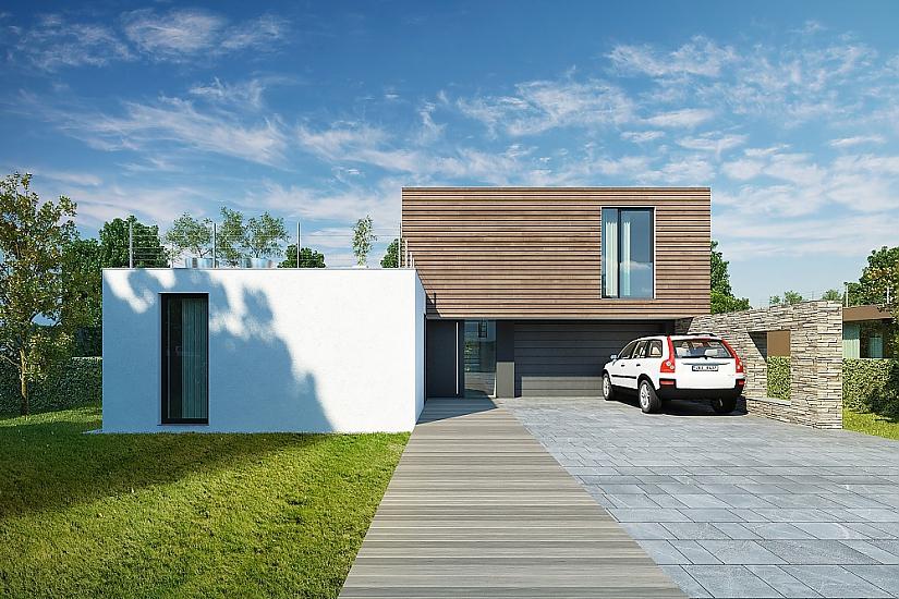 Projekt rodinného domu Dream obr.581