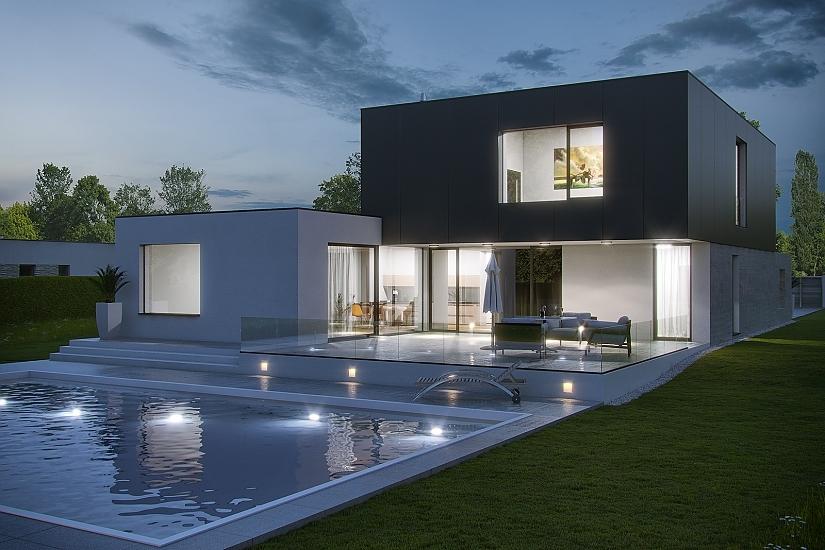 Projekt rodinného domu Dream obr.946