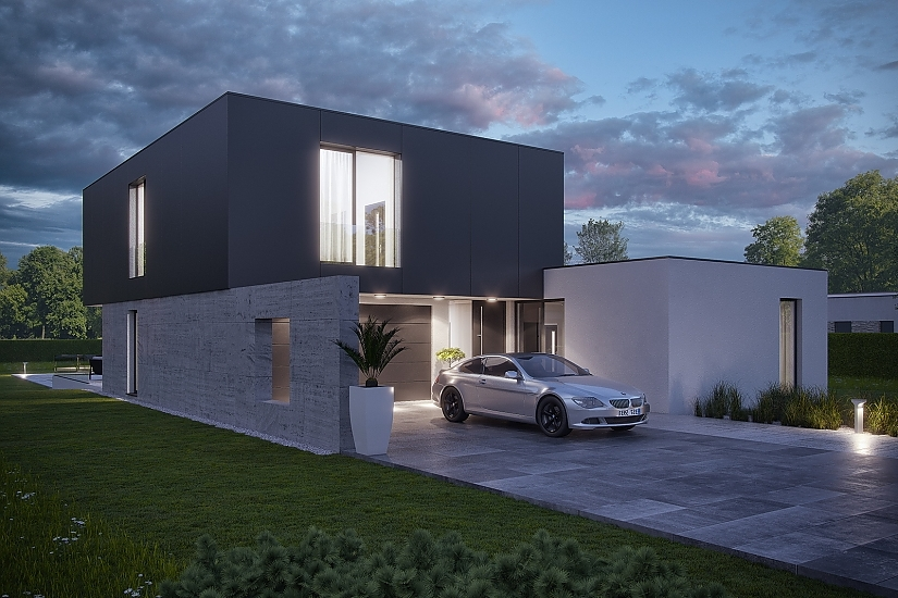 Projekt rodinného domu Dream obr.947