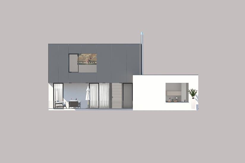 Projekt rodinného domu Dream obr.949