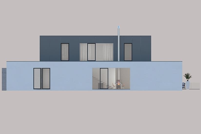 Projekt rodinného domu Dream obr.950