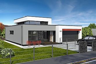 Projekt rodinného domu - Linear 331