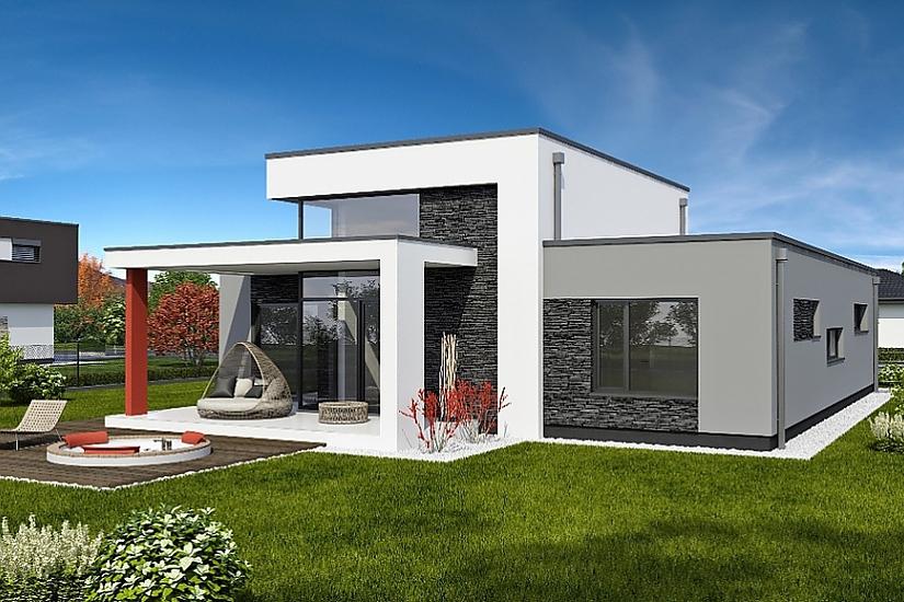 Projekt rodinného domu Linear 331 obr.613