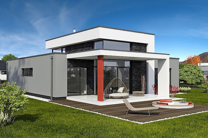 Projekt rodinného domu Linear 331 obr.614