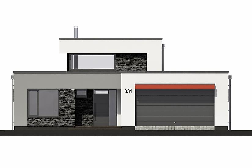 Projekt rodinného domu Linear 331 obr.615
