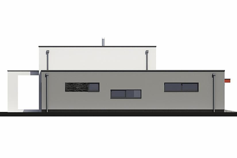 Projekt rodinného domu Linear 331 obr.616