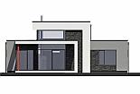 Projekt rodinného domu Linear 331 obr.617