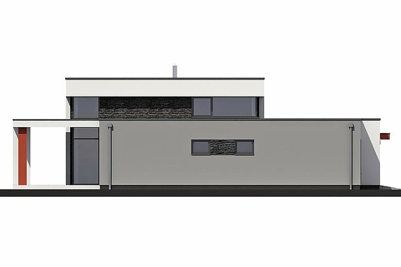 Projekt rodinného domu Linear 331 obr.618